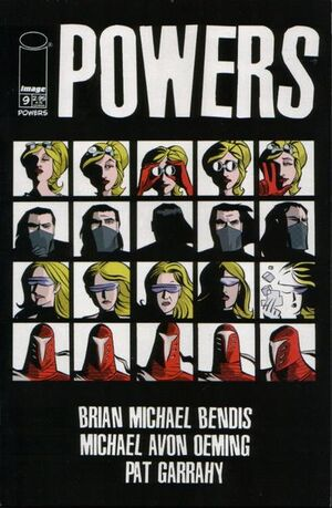 Cover for Powers #9 (2001)