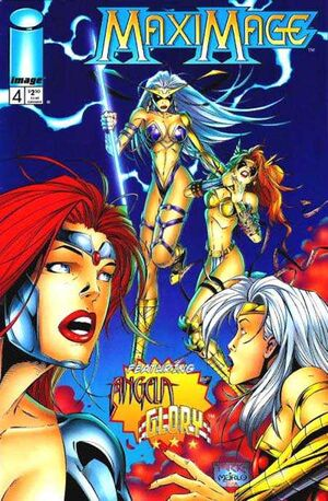 Cover for Maximage #4 (1996)