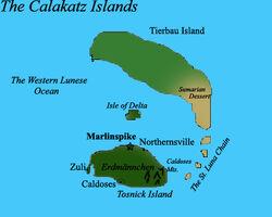 Calakatzislands