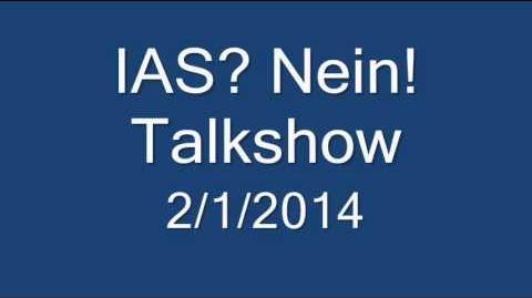 IAS? Nein! Talkshow - 2 1 2014