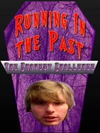 Running in the Past Poster Size