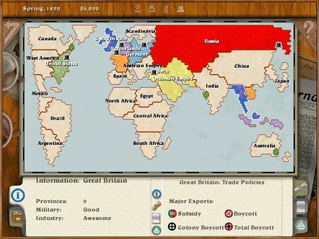 Imp1 Colonization of the World 1820