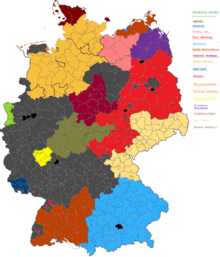 DD62 Germany's map