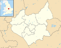 Leicestershire UK district map (blank) svg