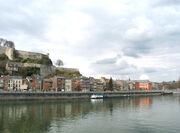 The Meuse river in Namur.