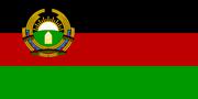 Flag of Afghanistan (1987–1992).