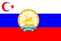 AvAr Islamic republic of Bashkortostan flag