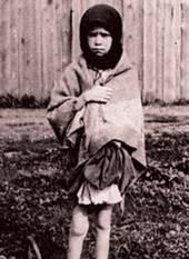 Famine Kharkov girl and no goat 1933