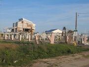 Pascagoula destroyed condos from Katrina