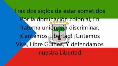 Hymne national de la Guinée Équatoriale