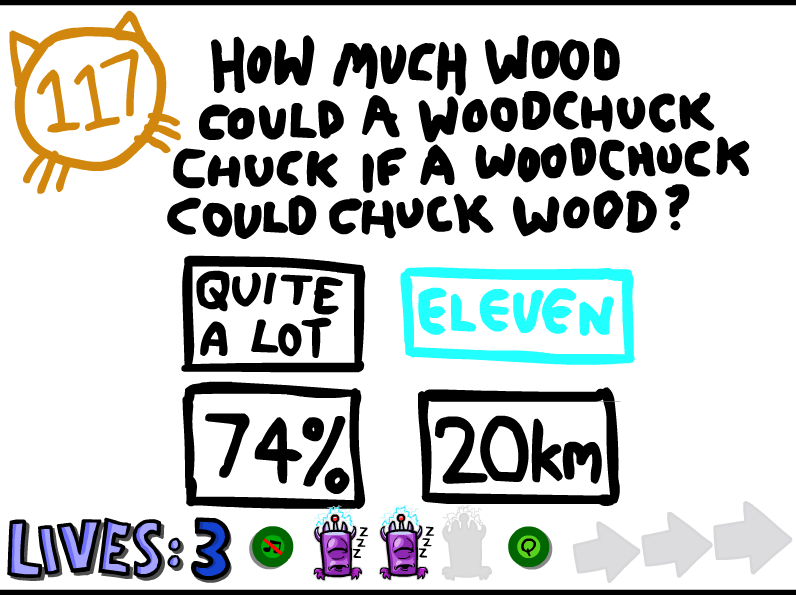 the impossible quiz 2 answers 23