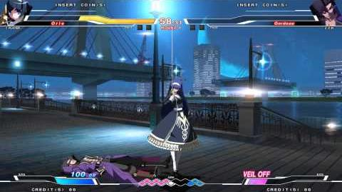 UNDER NIGHT IN-BIRTH Orie VS Gordeau