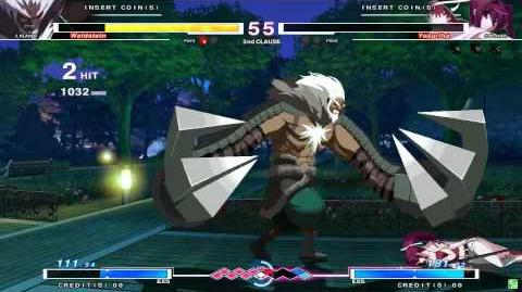 UNDER NIGHT IN-BIRTH Waldstein Gameplay
