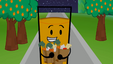 S2e1 oj walking with groceries