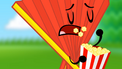 S2e5 fan eats popcorn