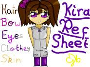 Kira Ref Sheet