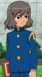 Shindou in school uniform CS 1 HQ