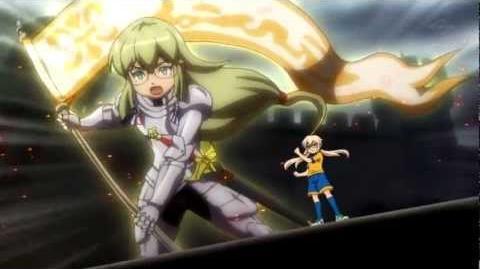 イナズマイレブンGO! クロノ・ストーン Kirino's MixiTrans La Flamme (HD)