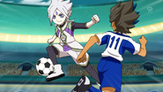 Ryugel intercepting the pass EP33 HQ
