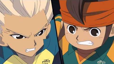 HD Inazuma Eleven Movie - Hissatsu Shoot Inazuma Ichigo Otoshi VS Full Power Shield