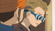 Endou and Kidou talking HQ
