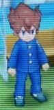 Tenma School Uniform Front Sprite GO Game