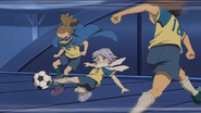 Fubuki doing defense training IE 41 HQ