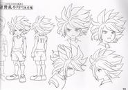 Suzuno's Character design