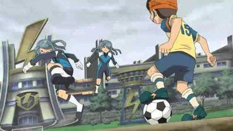 Inazuma Eleven (イナズマイレブン)Bushin Defense 分身ディフェンス