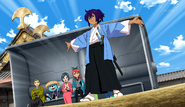 Okita offering his power CS 29 HQ