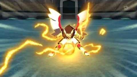 Inazuma Eleven GO Chrono Stone ( Grand Luster God Wind VS Reverse World ) HD