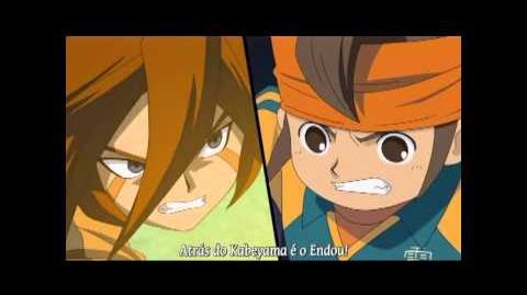 Inazuma Eleven - Inazuma Ichigo Otoshi vs Full Power Shield