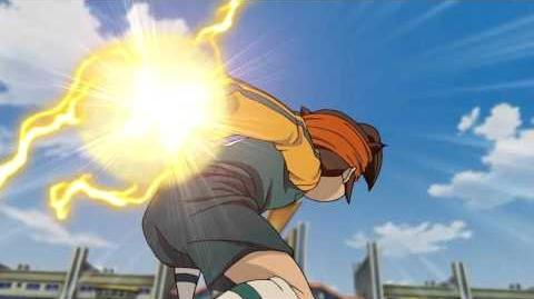 Inazuma Eleven Shin Dark Tornado vs Shin Ijigen The Hand