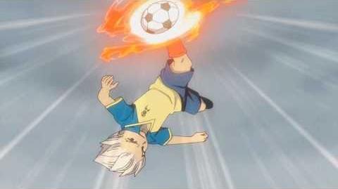 Inazuma Eleven Gouenji Shuuya & Someoka Ryûgo Dragon Tornado