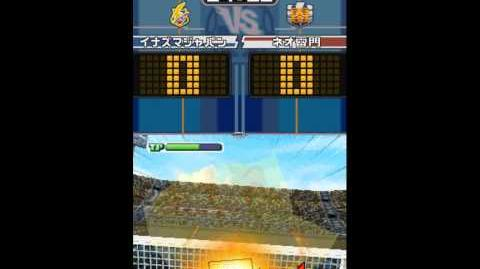 Inazuma eleven the ogre sky drop v3 vs Omega the hand G5 HD