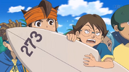 Megane getting really angry about Tsunami's surf board