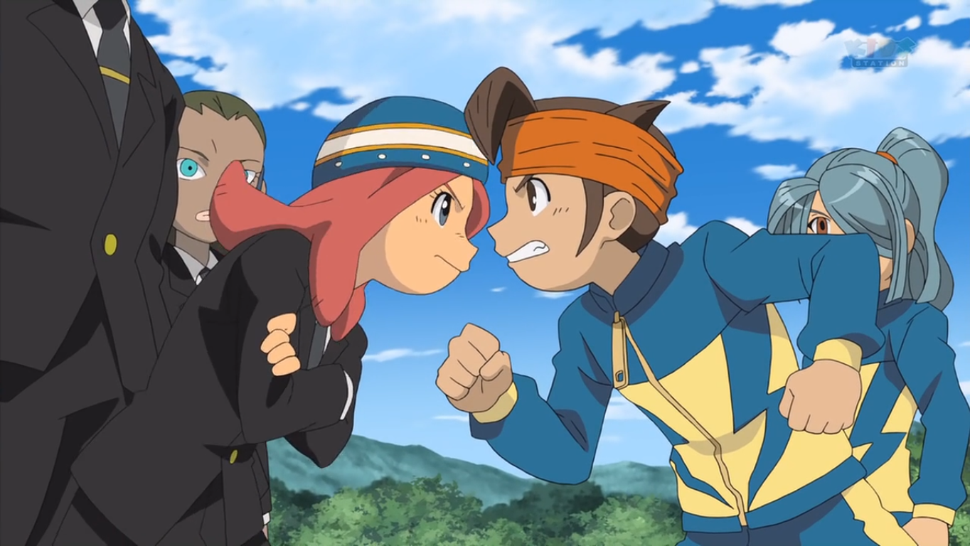 Image - Endou and Touko arguing IE 29 HQ.PNG | Inazuma ...