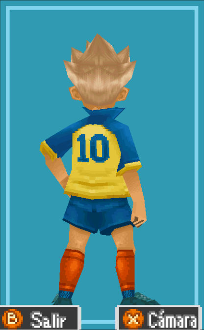 Gouenji Back View Raimon