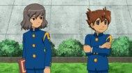 Tenma and shindou