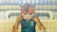 Endou never give up