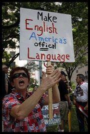 Protestor EnglishOfficalLanguage-1-