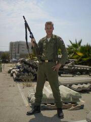 Ilya Jonathan Zaydenberg soldier