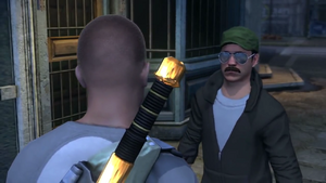 Heavy Weapons mission start in inFamous 2
