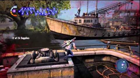 InFamous 2 Flood Town - Ice Tea Party