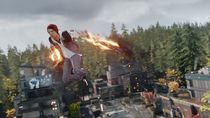 Good Delsin uses Smoke Thrusters