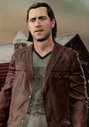 Shane in inFamous First Light