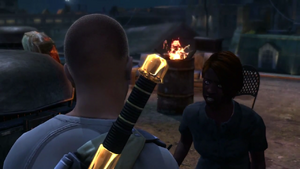 Best Served Cold mission start in inFamous 2