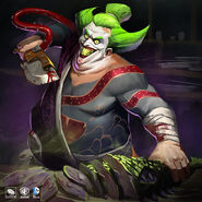 Sushi Chef Gaslight Joker Art Skin Costume