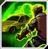 Atomic Green Lantern's Consume