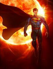 Superman infinite Crisis art